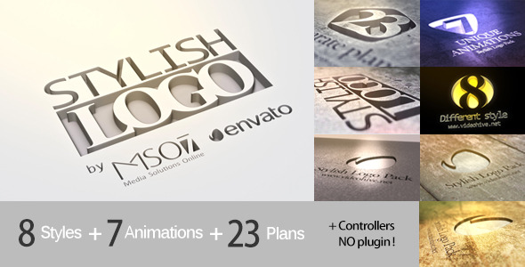 Stylish Logo Pack Screen